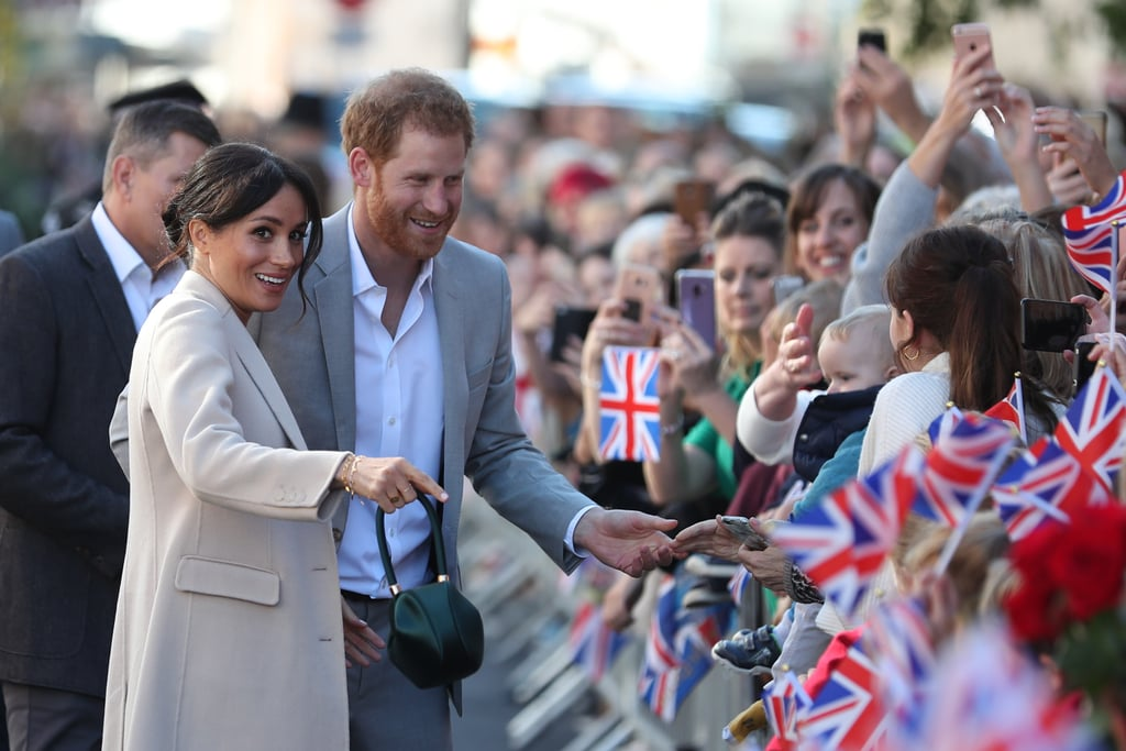 October: When Meghan and Harry Greeted Fans During Their Official Visit to Sussex