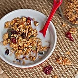 Granola With Almond Milk