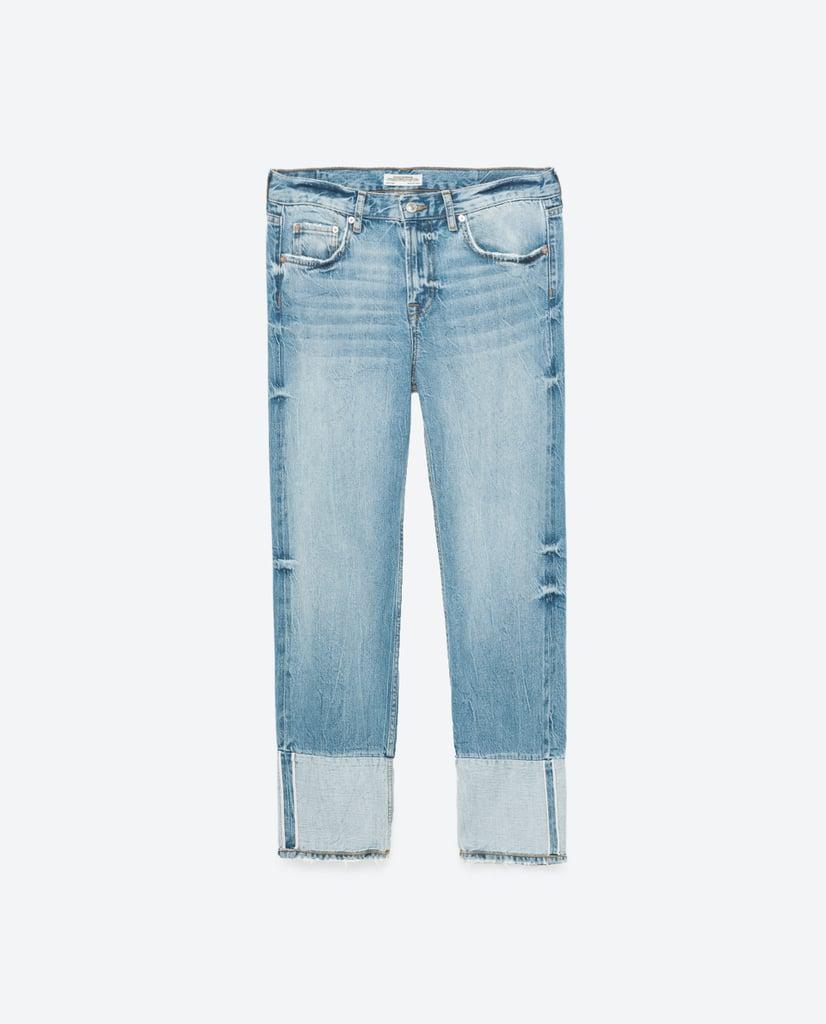 Zara Boyfit Two-Toned Jeans ($70)