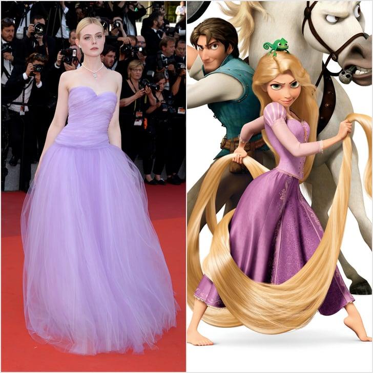 Disney Dresses at Cannes 2017 | POPSUGAR Fashion