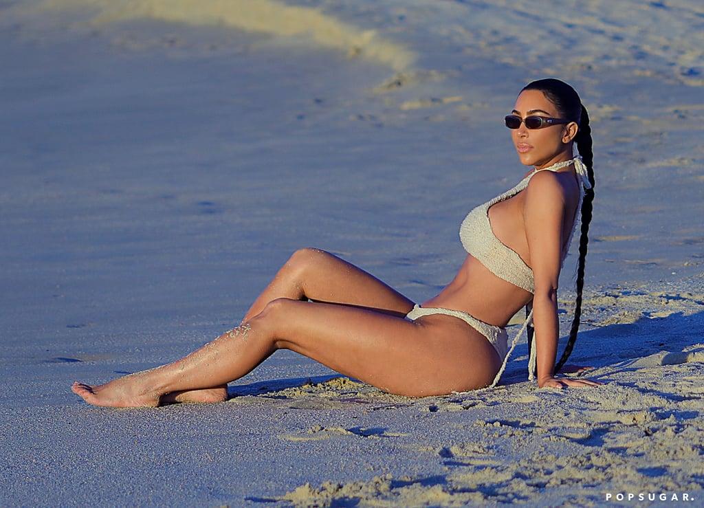 Kim Kardashian Mexico Bikini Pictures January 2020