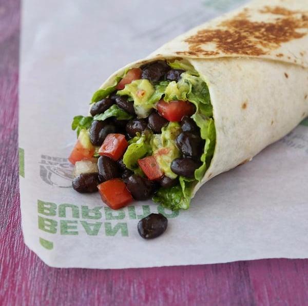 Veggie Power Burrito