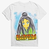 Billie Eilish Anime Face T-Shirt