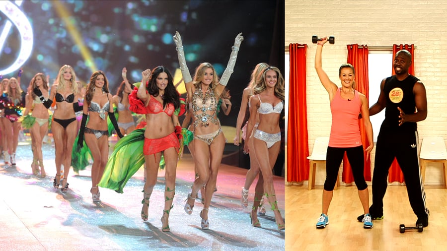 Wiggles Exercise Victorias Secret The Workouts Su...