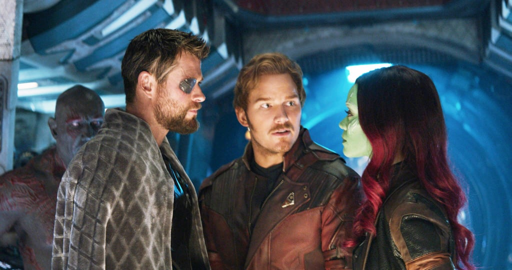 Reactions to Star-Lord in Avengers Infinity War