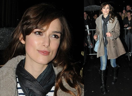 Photos of Keira Knightley at The Misanthrope in London