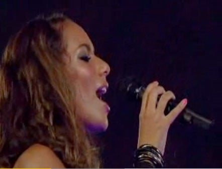 Leona Lewis and Jimmy Page Duet at Olympics