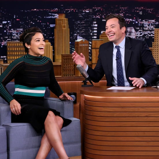 Gina Rodriguez Rapping on The Tonight Show | Video