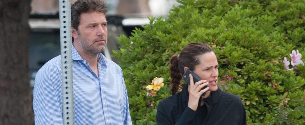 Ben Affleck and Jennifer Garner Get Together For Their Kids' First Day of School