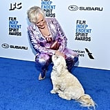 Glenn Close at the 2019 Spirit Awards