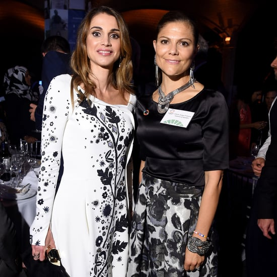 Queen Rania and Princess Victoria's Matching Outfits