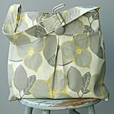 Extra Large Gray Yellow Diaper Bag ($88)