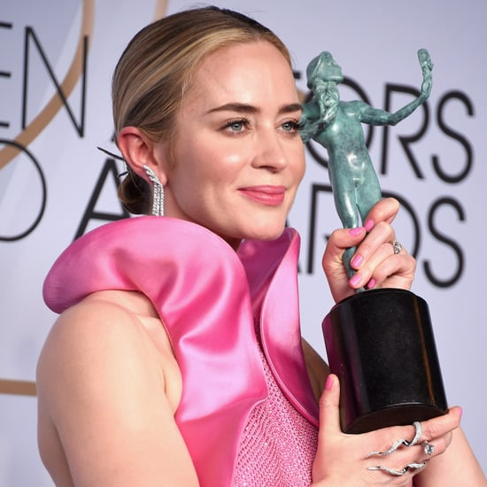 Emily Blunt Talks About John Krasinski at SAG Awards 2019