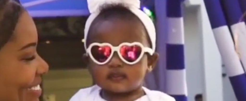 Baby Kaavia James Puts on Sunglasses | Video