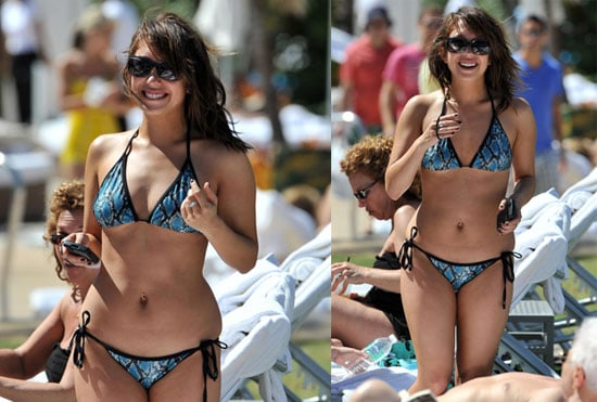 Photos of Dancing With The Stars's Cheryl Burke in a Bikini in Miami