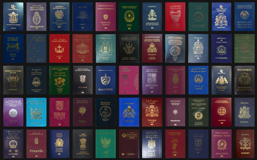 what does your passport color mean? | popsugar middle east smart