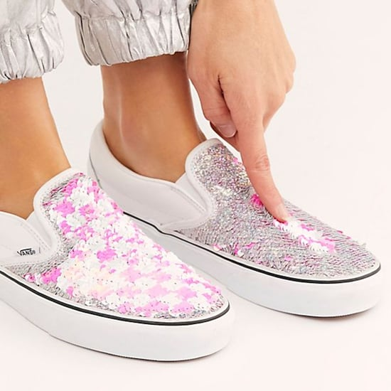 New Vans Sequin Sneakers 2019