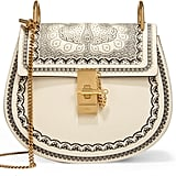 Chloé x Net-A-Porter Drew Small Embossed Textured-leather Shoulder Bag ($1,990)