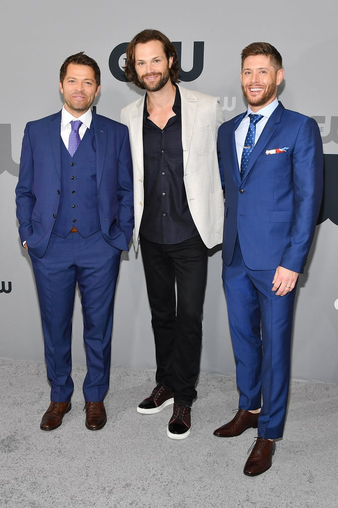 The Cast of Supernatural at CW Upfronts in NYC May 2018