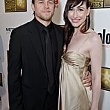 He and Morgana dressed up for the Critics' Choice Awards in LA in June 2012.