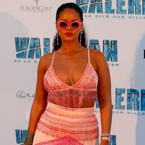 Rihanna Wearing Prada at Valerian Premiere in Paris