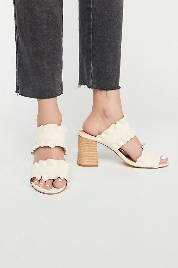 FP Collection Rosie Ruffle Heels