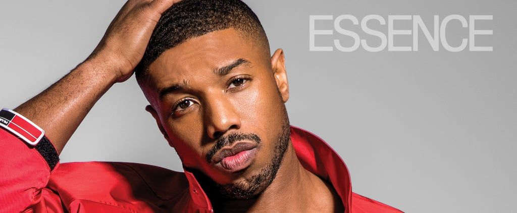 Michael B. Jordan Shirtless in Essence June 2018