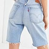 Levi's 501 Slouch Denim Bermuda Shorts