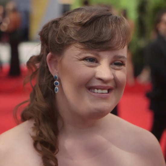 Jamie Brewer Interview at 2016 Emmys (Video)
