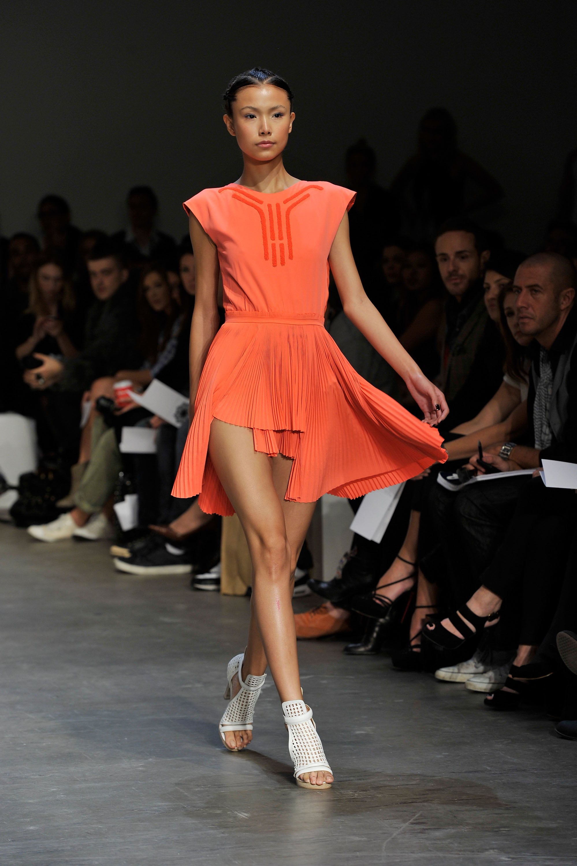 Runway Review And Pictures Of Magdalena Velevska S Spring