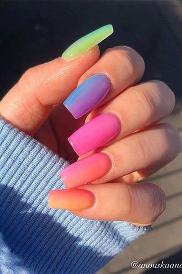 Modern Gradient Nail Trend