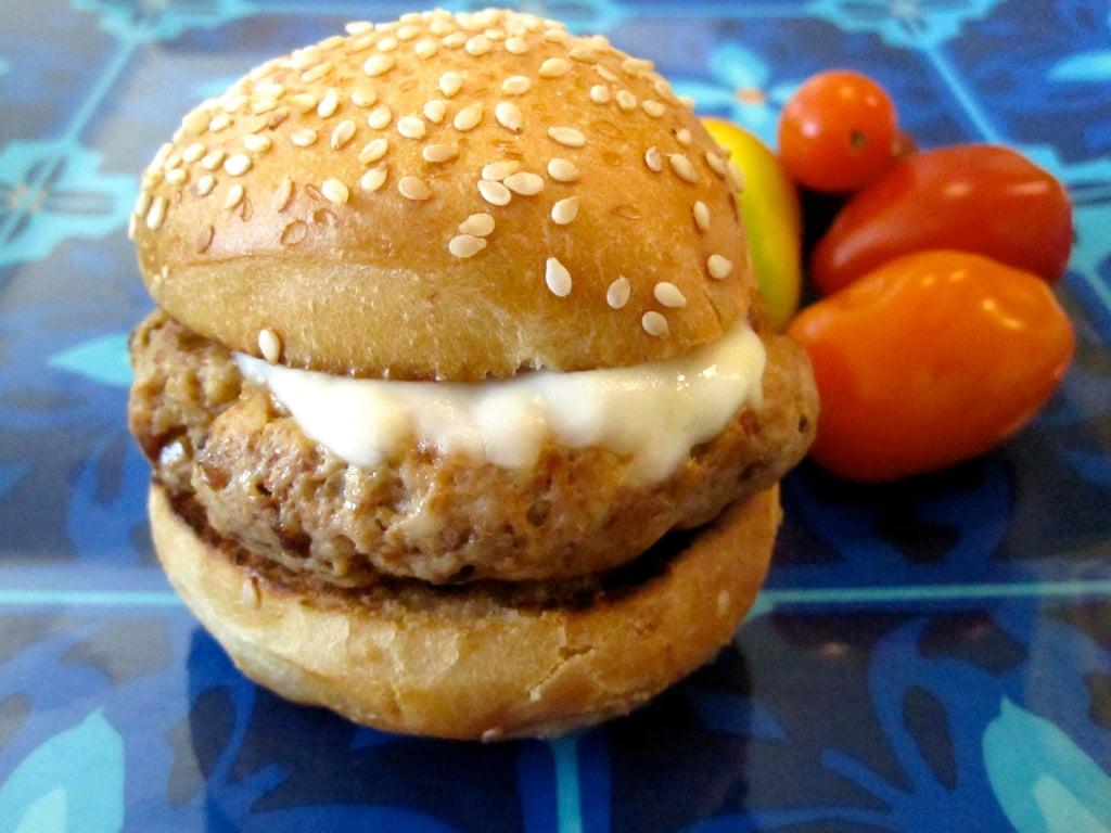Chicken Sun-Dried Tomato Mini Burgers