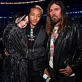 Pictured: Noah Cyrus, Jaden Smith and Billy Ray Cyrus