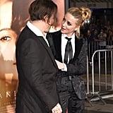 Johnny Depp and Amber Heard at The Danish Girl LA Premiere