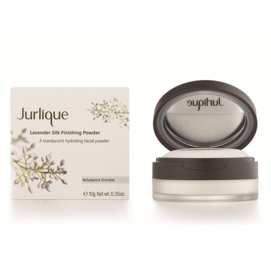 This Jurlique Lavender Silk Finishing Powder ($36) provides a matte finish without talc, and it has soothing arnica and calendula extracts, which help reduce redness and speed scar healing. Plus, it just smells beautiful.