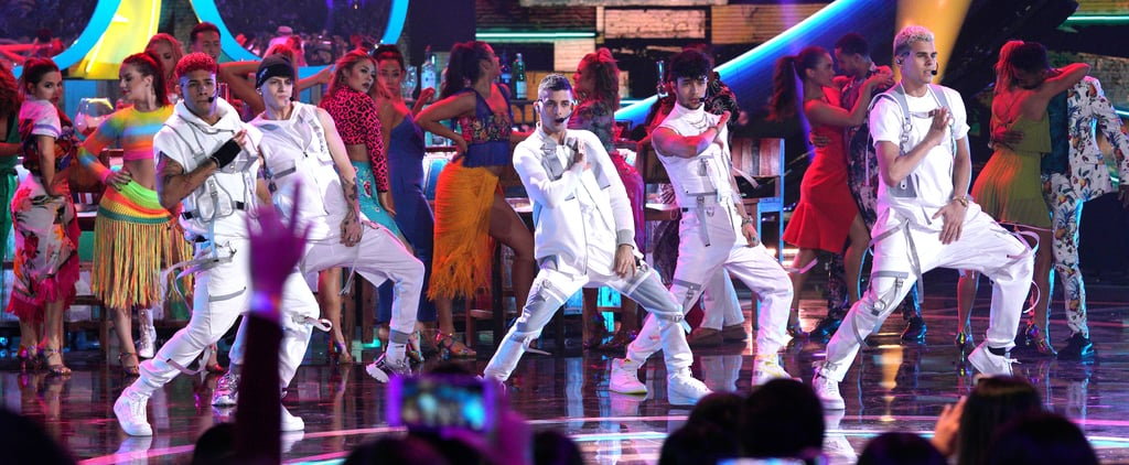 CNCO, Abraham Mateo Performance at the Latin AMAs 2019