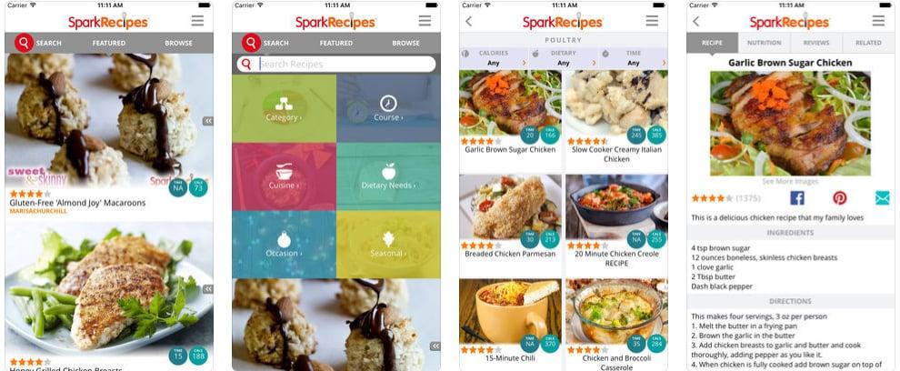 Spark Recipes Healthy Recipes