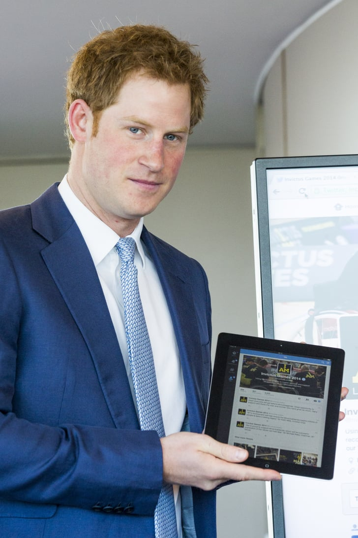 Prince Harry Just Sent Out His First Tweet, and It Was Adorable
