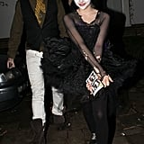 Chloë Moretz was a black swan at Jonathan Ross's 2010 Halloween bash.
