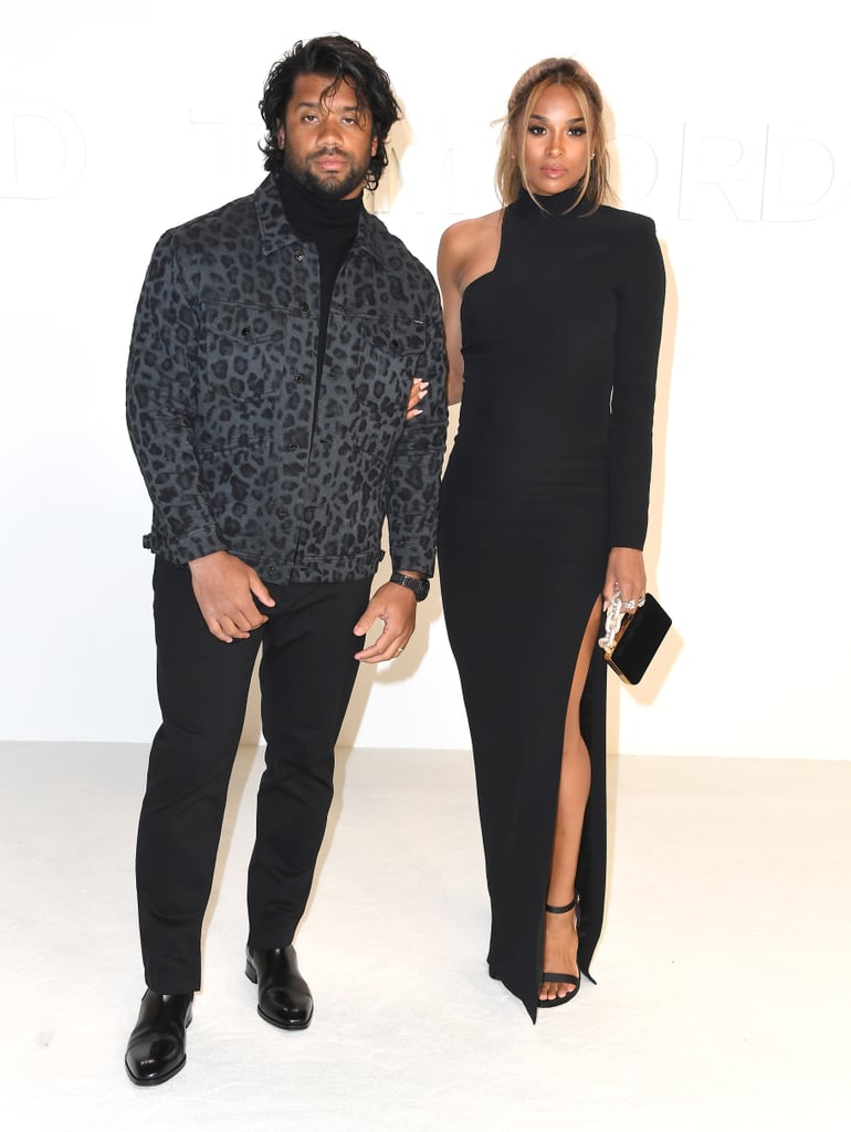 Russell Wilson and Ciara at the Tom Ford Fall 2020 Show