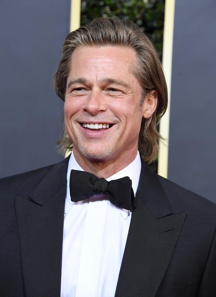 Brad Pitt at the 2020 Golden Globe Awards