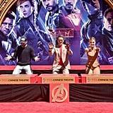 Avengers: Endgame Press Tour Pictures