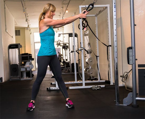exercise pulley machine