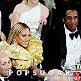 Beyoncé and JAY-Z at the 2020 Golden Globe Awards
