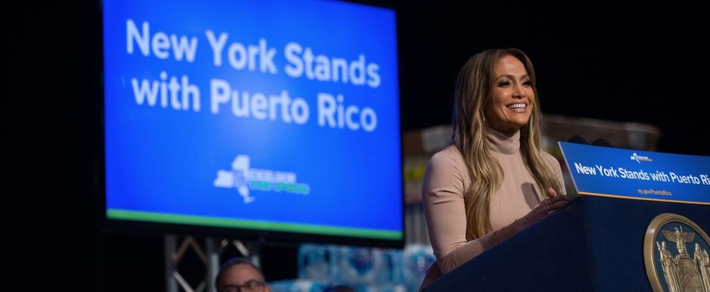 Jennifer Lopez Donates $1 Million to Help With Hurricane Relief in Puerto Rico