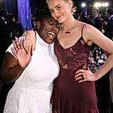 Pictured: Taylor Schilling and Danielle Brooks