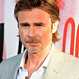 Sam Trammell looked handsome as always as he arrived in Hollywood for the premiere.