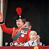 Queen Elizabeth II and Prince William Pictures