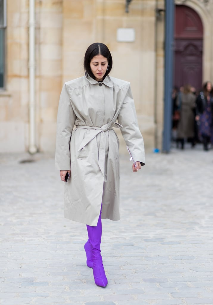 Kick Off the Trend With a Pair of Purple Shoes