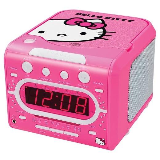 Hello Kitty Alarm Clock ($40)